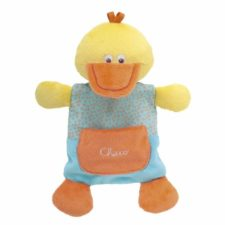 Chicco happy colors knuffel knisper duck