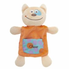 Chicco happy colors knuffel knisper poes