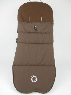Bugaboo® voetenzak koord refurbished - donkerbruin