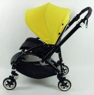 Bugaboo® Bee3 Kinderwagen Zwart - Geel