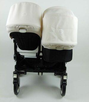 Bugaboo® Donkey Duo - Zwart - Off White