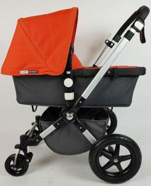 Bugaboo® Cameleon3 Kinderwagen - Donkergrijs - Oranje
