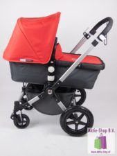 Bugaboo Cameleon 3 Donkergrijs Rood