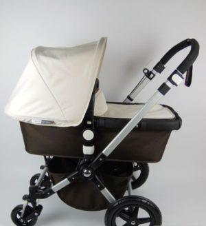 Bugaboo® Cameleon3 Kinderwagen - Donkerbruin - Off White