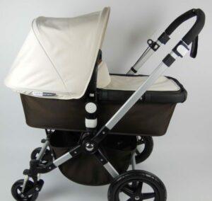 Bugaboo® Cameleon 3 Kinderwagen - Donkerbruin - Off White