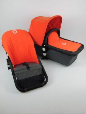 Bugaboo® Cameleon Aanvullende Bekledingset - Orange Fleece