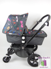 Bugaboo Cameleon 3 Donkergrijs / Andy Warhol Happy Bugs