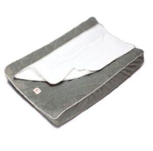 Fabs World® aankleedkussenhoes sterrenstraal - zilvergrijs