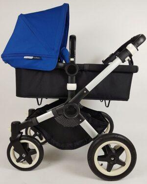 Bugaboo® Buffalo Kinderwagen - Zwart - Koningsblauw