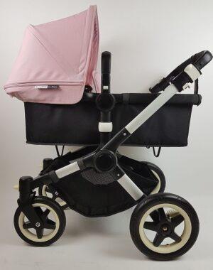 Bugaboo® Buffalo Kinderwagen - Zwart - Zachtroze