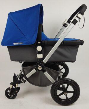 Bugaboo® Cameleon2 Kinderwagen - Donkergrijs - Koningsblauw