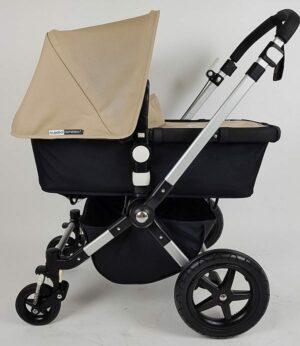 Bugaboo® Cameleon 3 Kinderwagen - Zwart - Zand