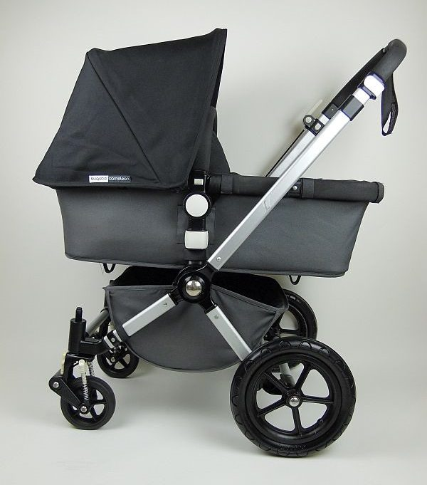 Bugaboo® Cameleon2 Kinderwagen - Donkergrijs - Zwart