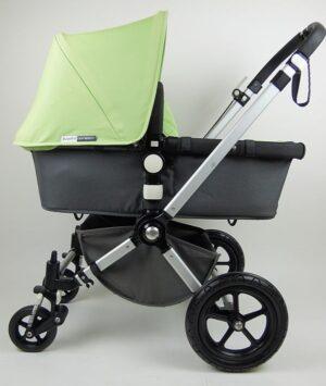 Bugaboo® Cameleon2 Kinderwagen - Donkergrijs - Light Green