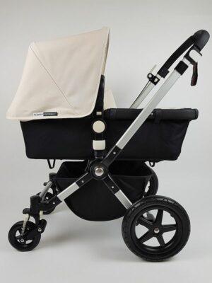 Bugaboo® Cameleon 3 Kinderwagen - Zwart - Off White