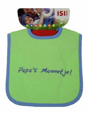 ISI MINI Slabbetje Tekst: Papa's Mannetje