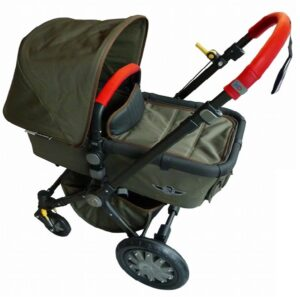 X-Qlusive Covers Bugaboo® Cameleon Kinderwagen Rood