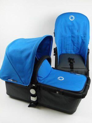 Bugaboo® Cameleon Aanvullende Bekledingset - Blue Canvas