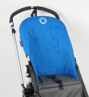 Bugaboo® cameleon seat liner refurbished - canvas blue