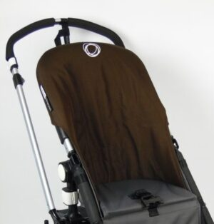 Bugaboo® cameleon seat liner refurbished - canvas donkerbruin