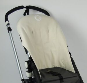 Bugaboo® cameleon seat liner refurbished - canvas off white