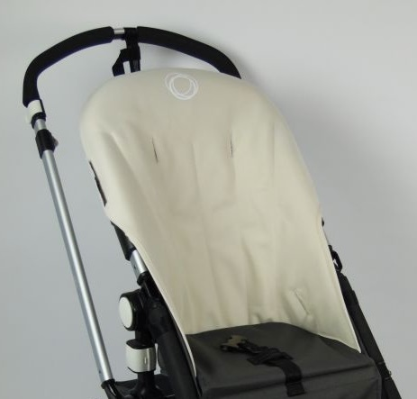 Bugaboo® Cameleon Seat Liner - Off White Canvas