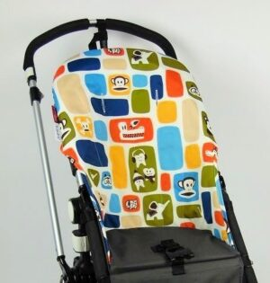 Bugaboo® cameleon seat liner refurbished - canvas color blocks