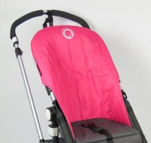 Bugaboo® cameleon seat liner refurbished - canvas pink