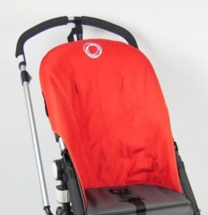 Bugaboo® cameleon seat liner refurbished - canvas rood | Aktie-Shop.nl