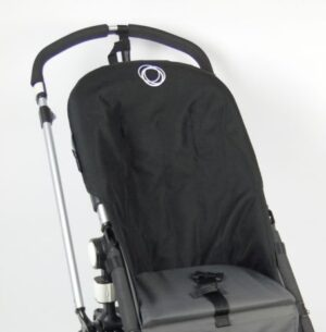 Bugaboo® cameleon seat liner refurbished - canvas zwart