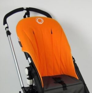 Bugaboo® cameleon seat liner refurbished - fleece oranje