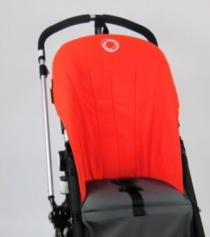 Bugaboo® Cameleon Seat Liner - Orange Canvas