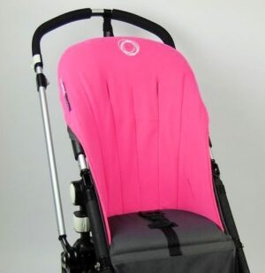 Bugaboo® cameleon seat liner refurbished - fleece pink