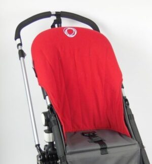 Bugaboo® cameleon seat liner refurbished - fleece rood
