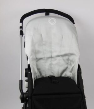 Bugaboo® cameleon seat liner refurbished - canvas metallic silver