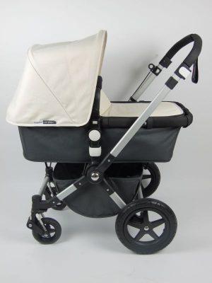 Bugaboo® Cameleon3 Kinderwagen - Donkergrijs- Off White