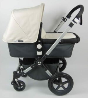 Bugaboo® Cameleon 3 Kinderwagen - Donkergrijs- Off White