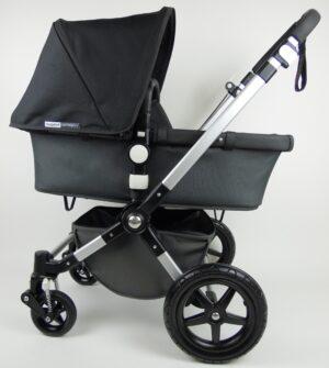 Bugaboo® Cameleon 3 Kinderwagen - Donkergrijs - Zwart
