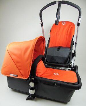 Bugaboo® Cameleon Aanvullende Bekledingset - Orange Canvas