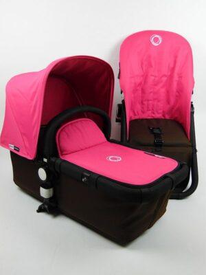 Bugaboo® Cameleon Aanvullende Bekledingset - Pink Canvas
