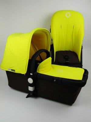 Bugaboo® Cameleon Aanvullende Bekledingset - Geel Fleece
