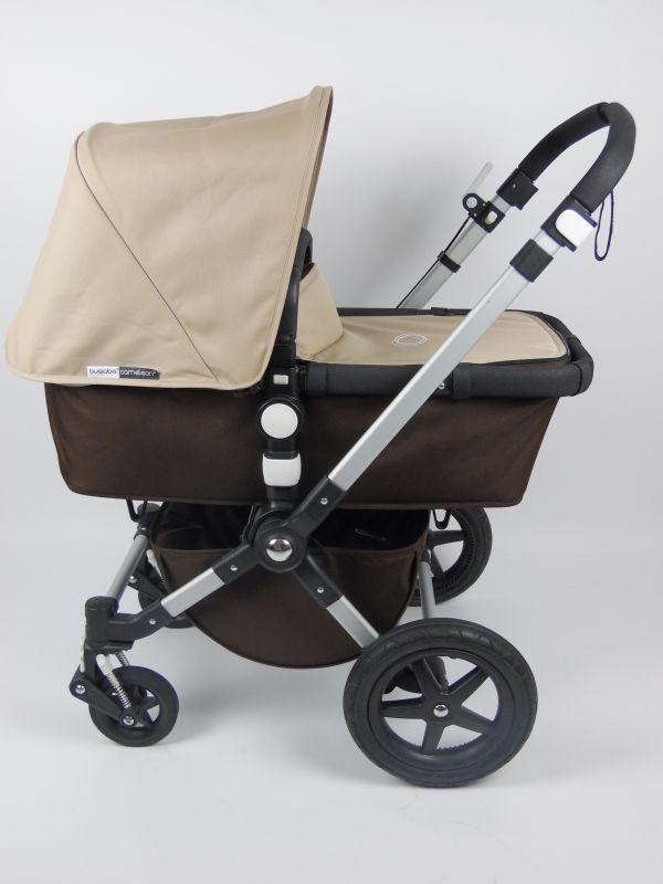 Bugaboo® Cameleon 3 Kinderwagen - Donkerbruin - Zand