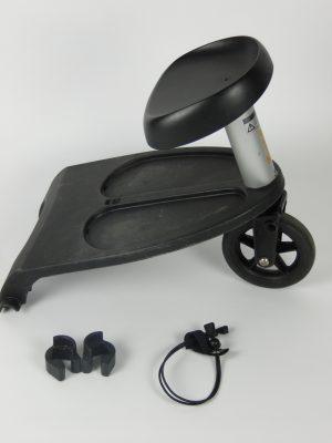 Bugaboo® Meerijdplankje Inclusief Zitje - Zwart