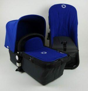 Bugaboo® Cameleon Aanvullende Bekledingset - Blue Fleece