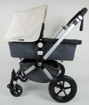 Bugaboo® Cameleon2 Kinderwagen - Donkergrijs - Off White