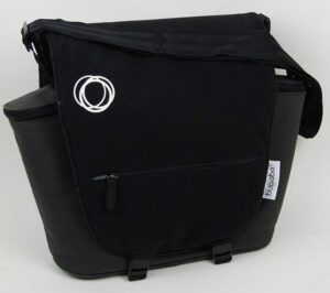 Bugaboo® Luiertas Donkergrijs - met klep Zwart