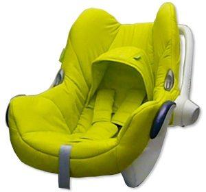 Kokodoo Bekleding Autostoeltje 0+ Maxi Cosi Cabrio (Fix) – Lime