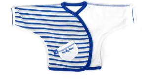 Ducky Beau Overslagshirt  - Cobalt