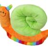 Pluche Slak in vrolijke kleuren - Knuffel | Aktie-Shop.nl