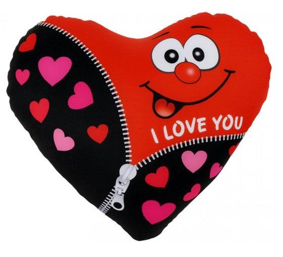 VDM Spandex Kussen - I Love You - Knuffel   Aktie-Shop.nl